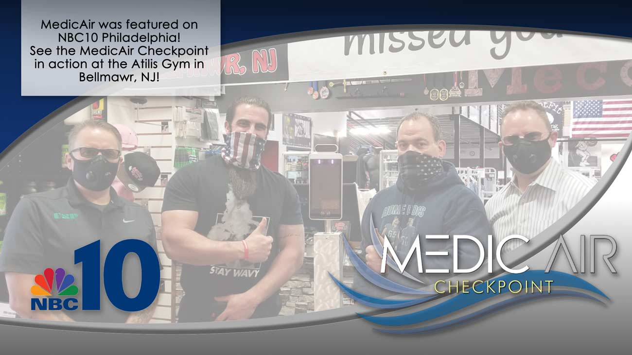MedicAir Solutions at the Atilis Gym in Bellmawr, NJ